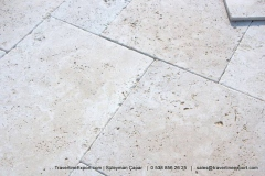 Typical travertine texture